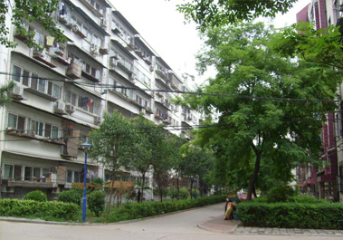【贸易中心家属院2号楼】郑州市家庭供暖住宅采暖地暖系统施工现场